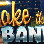 take the bank slot logo