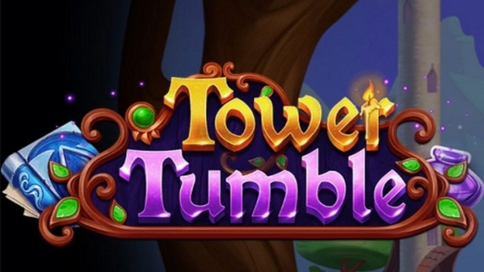 tower tumble slot logo