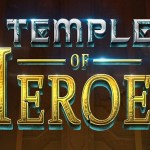 temple of heroes slot logo