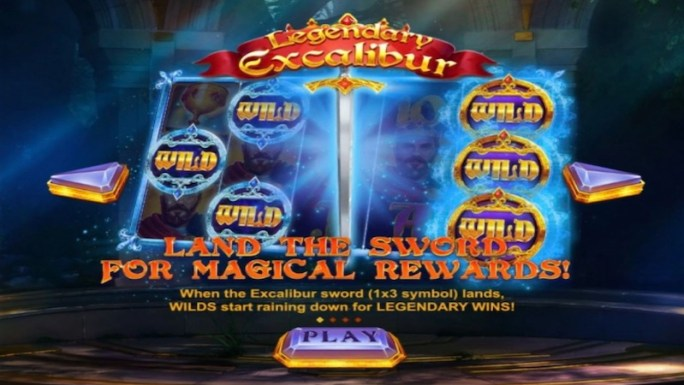 legendary excalibur slot rules