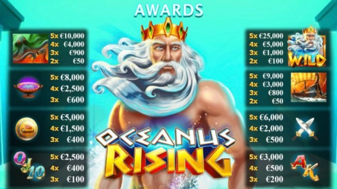 oceanus rising slot rules