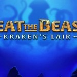 beat the beast krakens lair slot logo