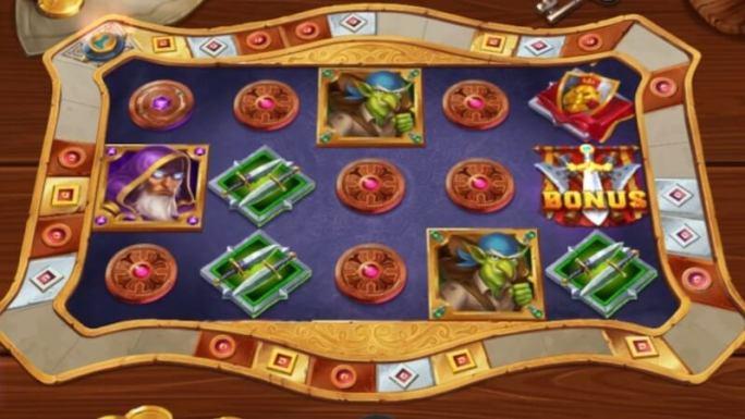 heroes gathering slot gameplay