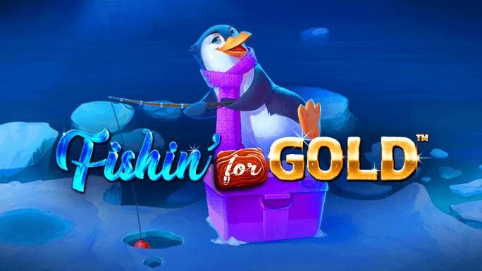 fishin for gold slot logo