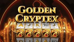 golden cryptex slot logo