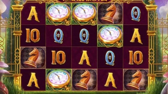 the wild hatter slot gameplay