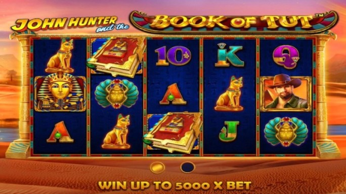john Hunter and the Book of Tut slot rules