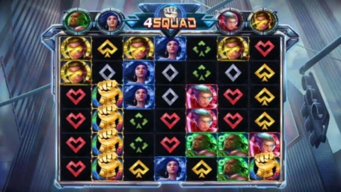 4squad slot gameplay