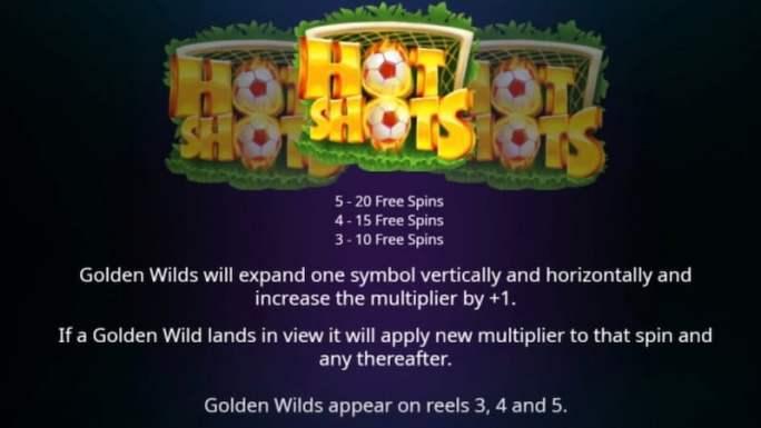 hot shots 2 slot rules