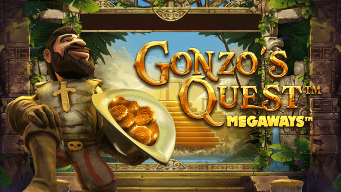 gonzos quest megaways slot logo