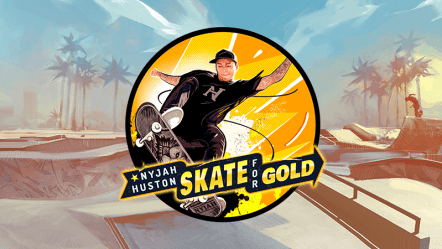 Nyjah Huston Skate For Gold Slot