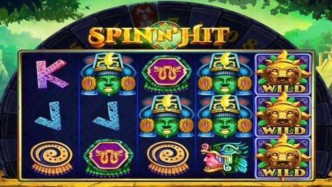 spin n hit slot gameplay