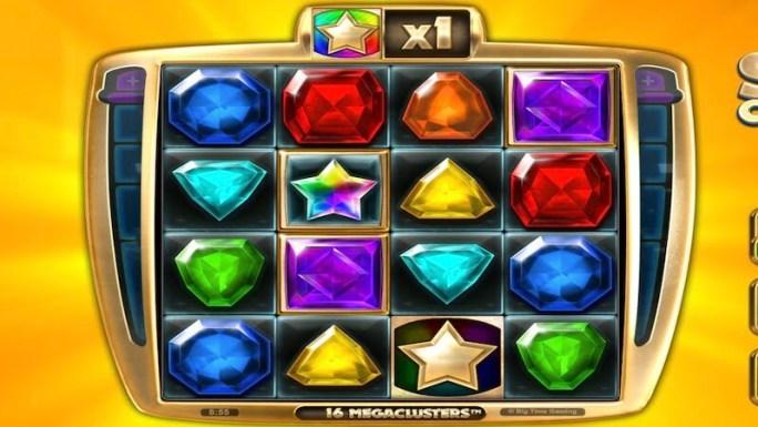 star clusters megacluster slot gameplay