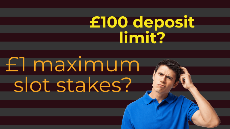£100 per month deposit cap and £1 stake per spin? We break down the latest online casino proposals