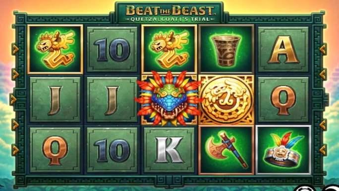 beat the beast quetzalcoatl slot gameplay