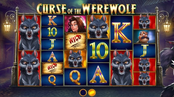curse of the werewolf slot rules