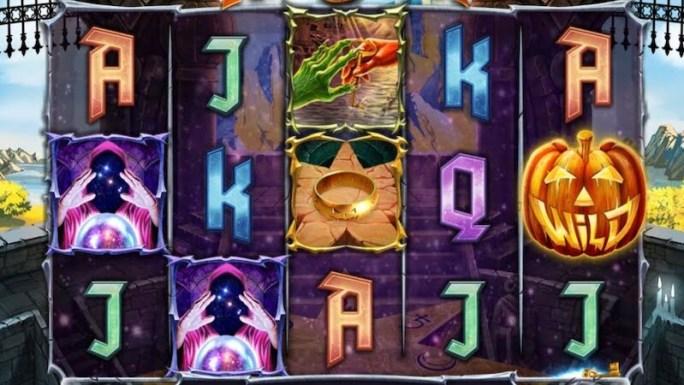 helloween slot gameplay