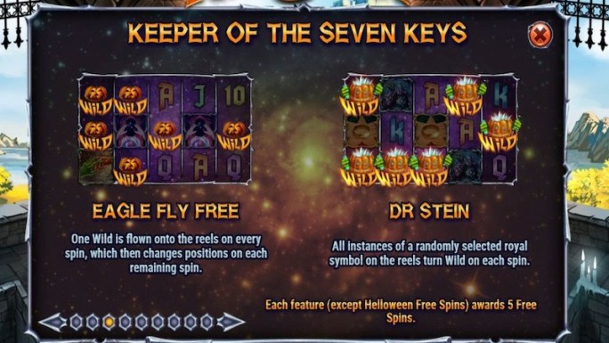helloween slot rules