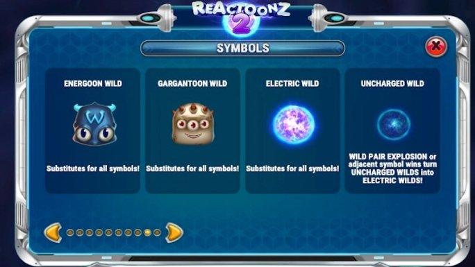 reactoonz 2 slot rules
