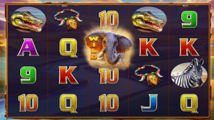 kalahari safari slot gameplay