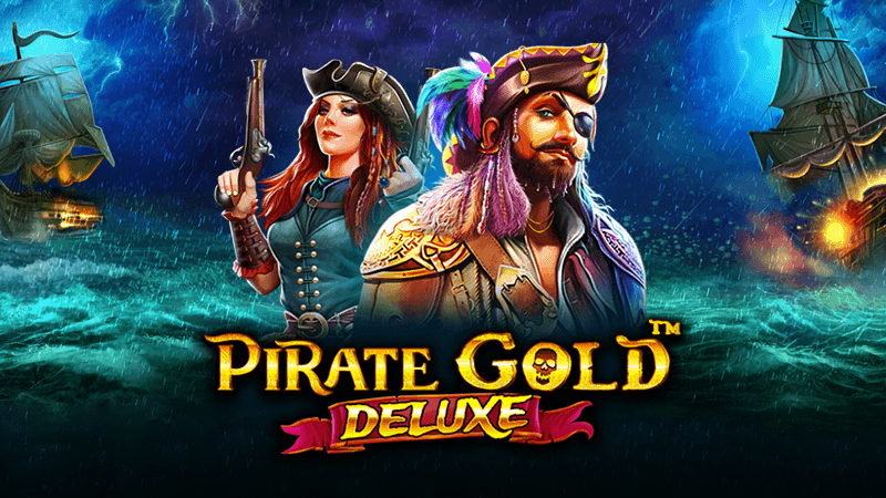 pirate gold deluxe slot logo