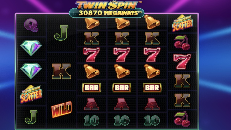 twin spin megaways slot gameplay