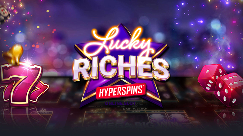 lucky riches hyperspins slot logo