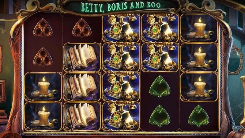 betty, boris and boo slot gameplay