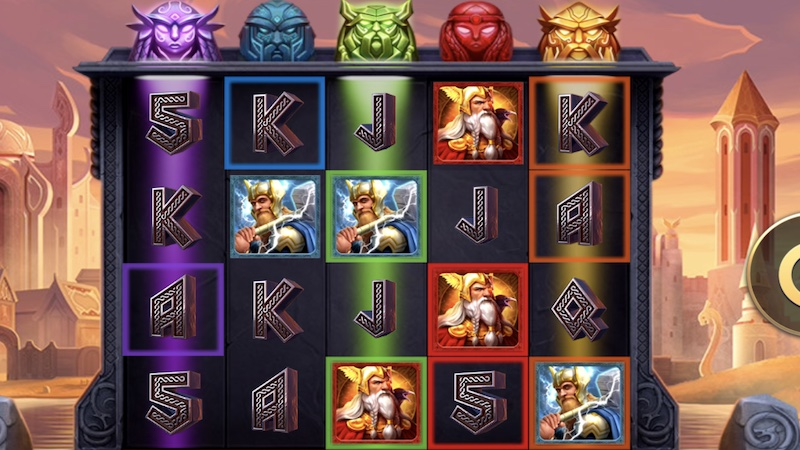 defenders of the realm slot gameplay