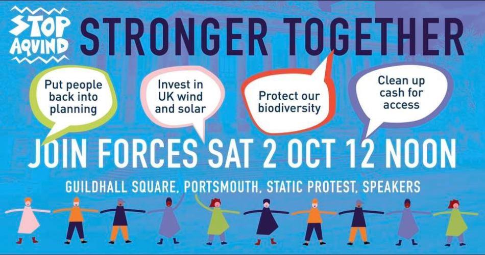 Stronger Together Protest