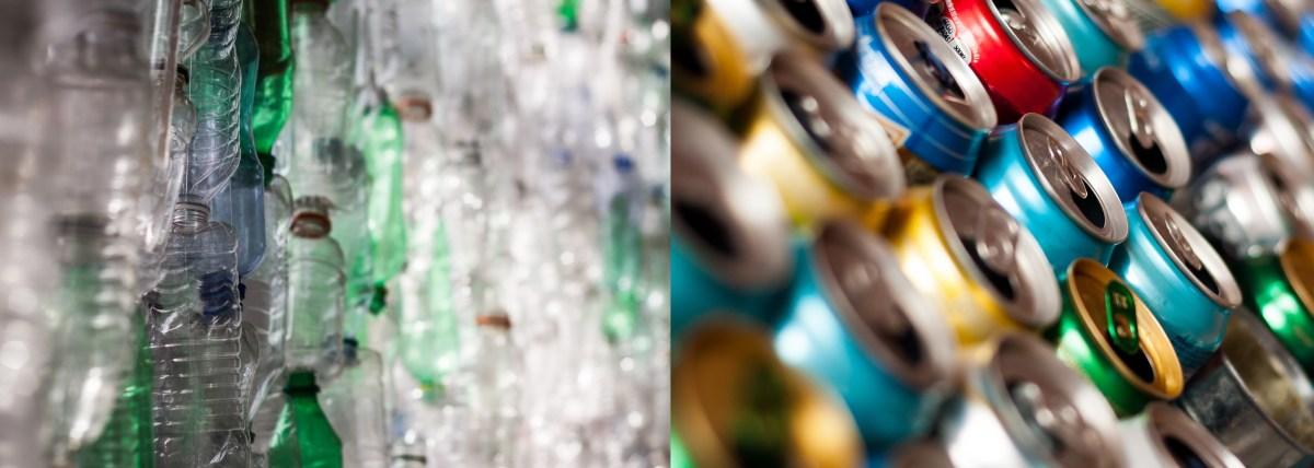 La importancia de reciclar plásticos y metales