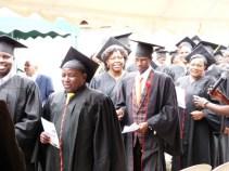 Graduands' processional