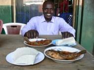 Tilapia and ugali