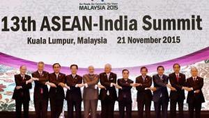 Leaders of ASEAN at the 2015 summit in Kuala Lumpur