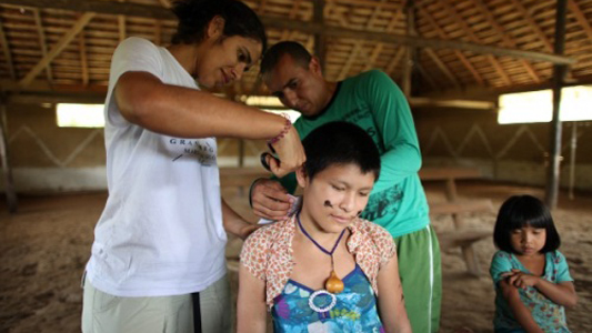 Indigenous Peoples Contaminated by Mercury from Illegal Gold Mining