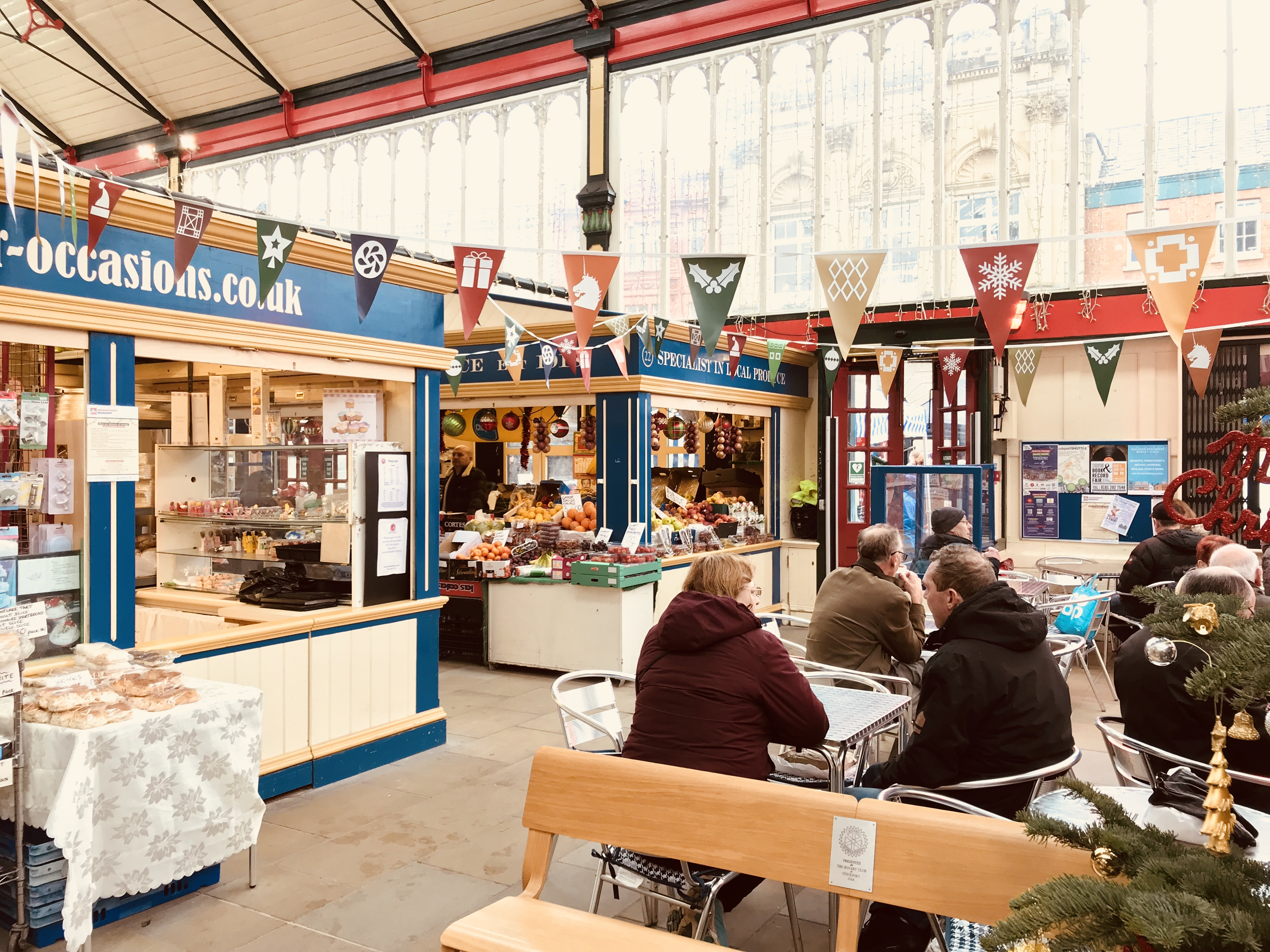 Stockport Indoor Market – Traditional Shopping