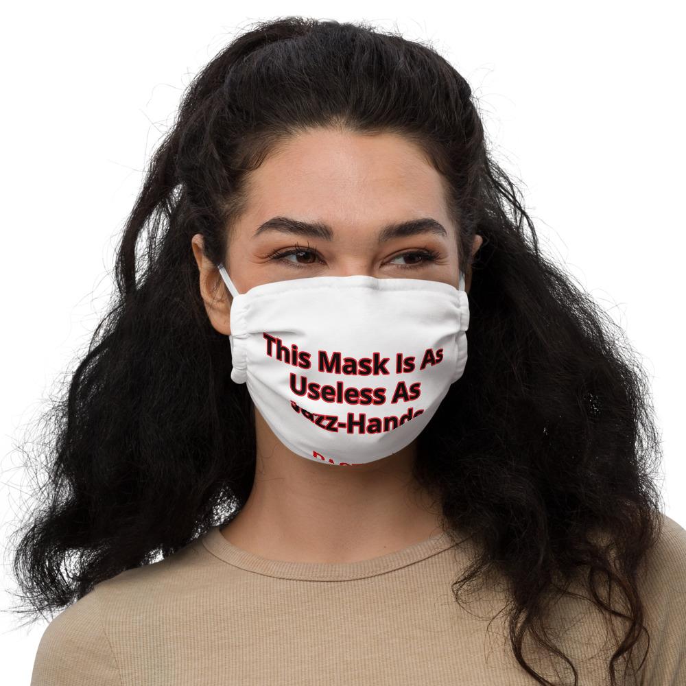Useless Jazz-Hands Premium face mask
