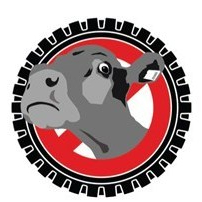 Stop Live Transport Cow Icon