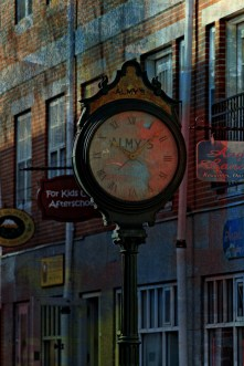 Almy's Clock, Salem, MA