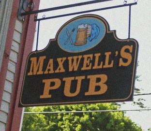 Maxwell's Pub Sign