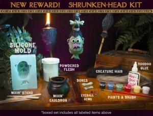 Shrunken Head Kit