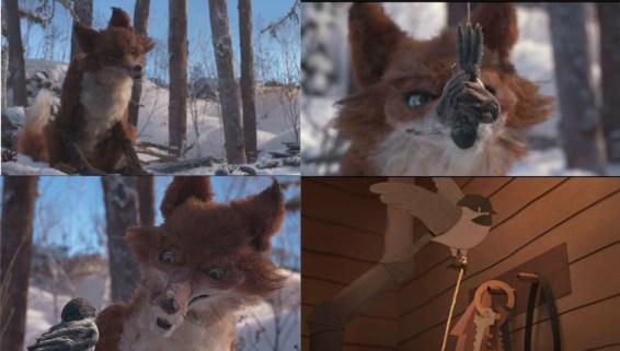 The Fox and The Chickadee