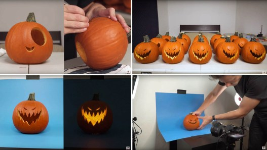Kevin Parry animates pumpkins