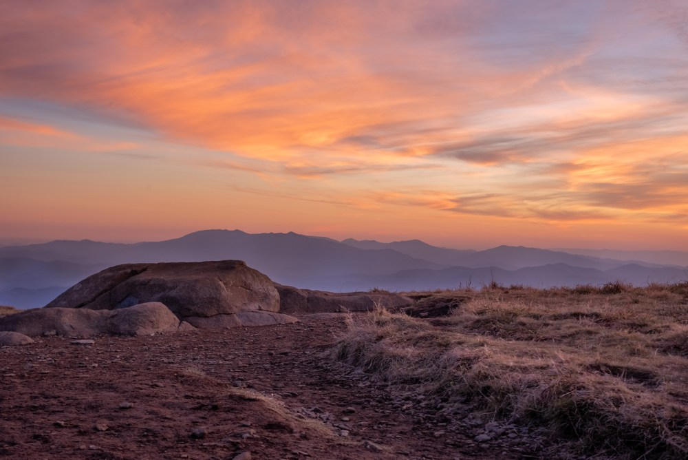 Roan Mountain Sunset, North Carolina
