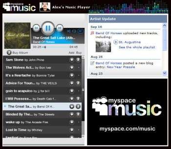 MSM 'Pop-Out' Music Player