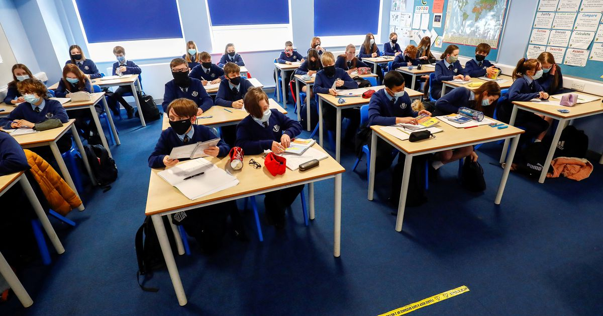 Children fuel English COVID case rise after slow vaccine start