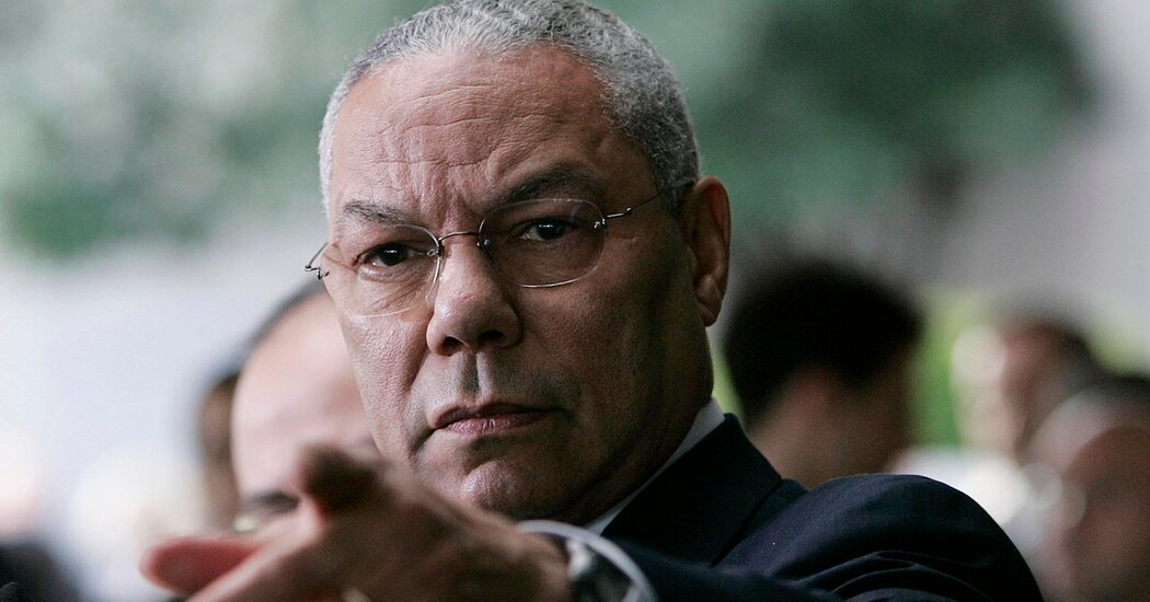 Colin Powell's Blood Cancer Made Him Vulnerable to Covid-19