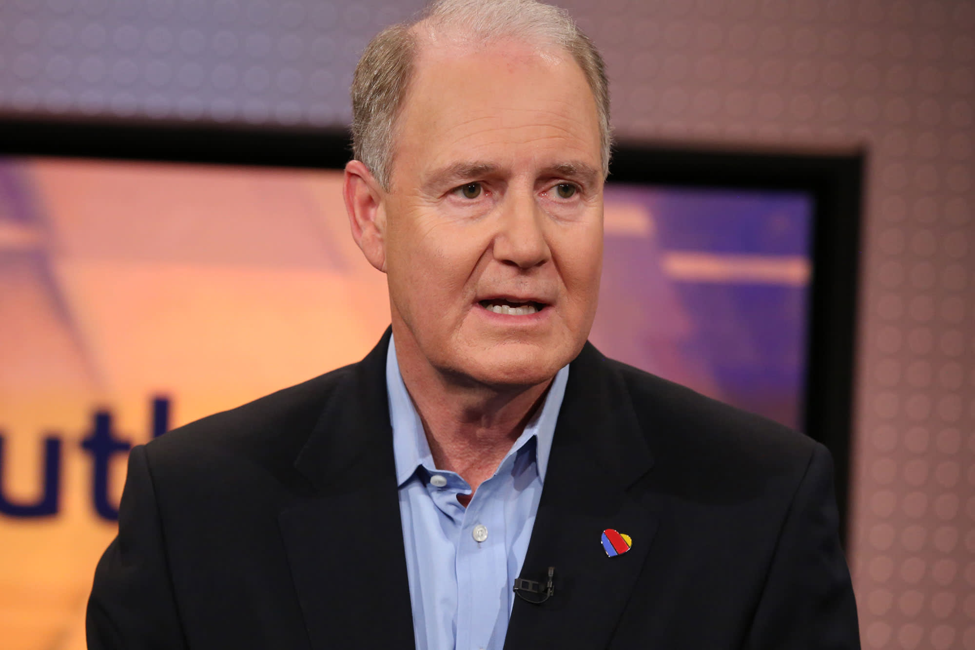 Southwest CEO Gary Kelly says he never wanted a mandate
