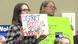 Protest about Garfield High sexual assault