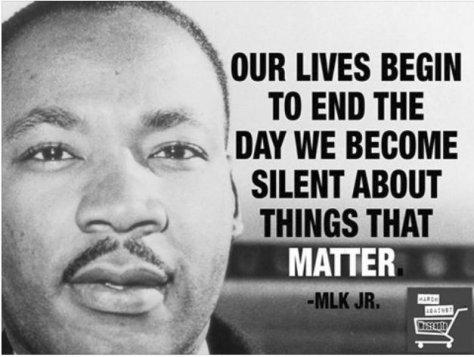 MLK Jr Things that matter